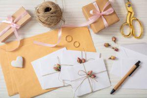 Ręcznie robione zaproszenia na ślub
