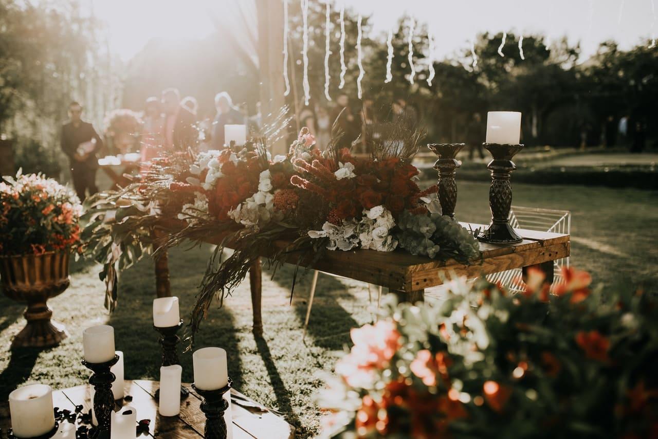 trendy i dekoracje ślubne